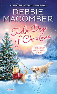 Twelve Days Of Christmas, Christmas Books, A Christmas Story, Christmas Fun, Amazon Christmas, Debbie Macomber, Novels To Read, Books To Read, New York Times