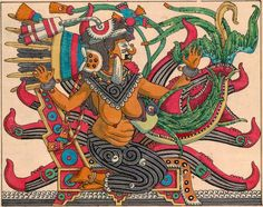 Living In Mexico City, Winged Serpent, Feathered Serpent, Aztec Art, Divine Mother, Indigenous Art, Funny Art, Funny Design, Chicano