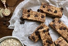 These easy, no-bake granola bars areperfect on-the-go snacks for busy families. They're chock full of good stuff that you'll feel good about givig your kidsl... who will gobble them up faster than you can make them!