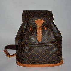 Louis Vuitton Monogram Canavs Montsouris Gm Backpack. Get one of the hottest styles of the season! The Louis Vuitton Monogram Canavs Montsouris Gm Backpack is a top 10 member favorite on Tradesy. Save on yours before they're sold out!