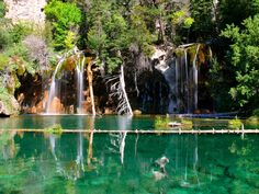 Hanging Lake, Colorado - by far one of the most beautiful places I've been. Well worth the hike.