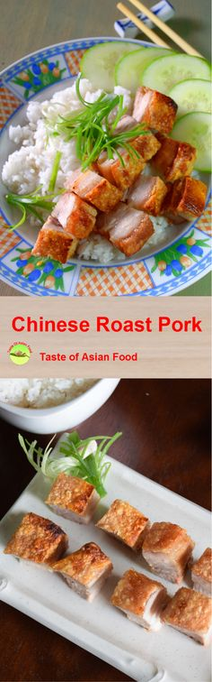 Roast pork is the classic Cantonese recipe that will satisfy the most critical connoisseur. However, it is a daunting task to roast pork over an open fire at home. Here is a much simpler way to do it with just the oven. It is hassle free and easy to replicate. http://tasteasianfood.com/roast-pork-recipe/ The result is comparable to any roast pork belly from the Chinese restaurant. You only need several ingredients and follow a few steps, and the result is almost guaranteed and fail-proof.