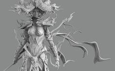 Futuristic Psylocke, Armor suit based on a fusion of samurai and mech.