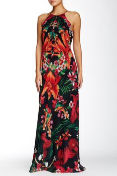 2762bbeb4fd62 Ted Baker London | Mircana Print Maxi Dress. Hawaiian WearHawaiian Outfits Vintage ...