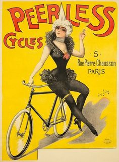 cycles peerless vintage poster - Google Search