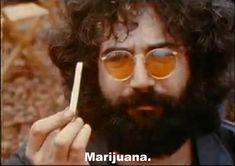 Jerry Garcia of Grateful Dead FYI, Woodstock