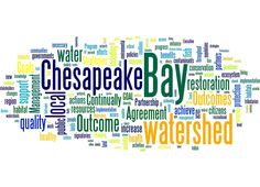 #chesforum 14 word cloud:  watershed forum content, alliance for chesapeake bay