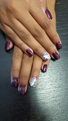 #dpnails #drphillips #windermere #orlando #nailsdesign #purplenails #flowers