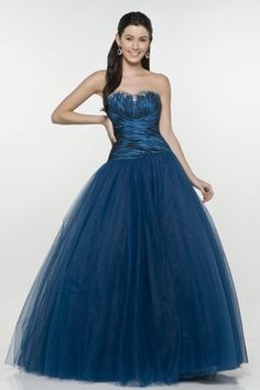 Wooler Tulle Sweetheart Ruching Ball Gown Prom Dress ✿ ✿