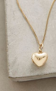 Constance Locket Necklace #anthrofave