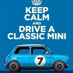 Tag your Mini Lover Friends ? Classic Mini, Classic Cars, Mini Car, Mini Mini, Austin Mini, Cooper Car, Classic Car Sales, Mercedes G Wagon, Morris Minor