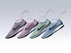 Der Flyknit-Sneaker von Nike kommt jetzt im Macaron-Pack