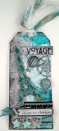 Suzz's Stamping Spot: Voyage and Dream