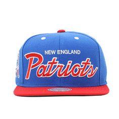 New England Patriots NFL Arch Snapback Hat