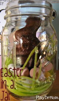 simple Easter treat ... great hostess gift!  Easter in a Jar from PlayDrMom