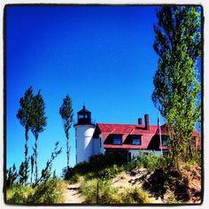 St Betsie Pointe Lighthouse Frankfort MI #puremichigan