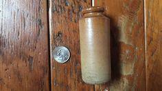 Guerre Antique authentique ère encre bien sel glaçure poterie grès de 1800