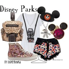"""Disney Parks"" by lalakay on Polyvore"
