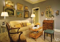 Living Room by Joanne DePalma in New York, New York