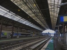 Grande verrière (1898), Gare Saint-Jean, Bordeaux, Gironde, Aquitaine, France.