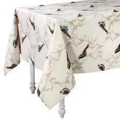 {Cabin 2-curtains & valances} Threshold™ Birds Rectangle Tablecloth