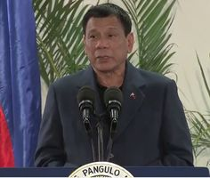 """President Duterte to Americans """"if you are planning to go to the Philippines, you get a VISA"""""""