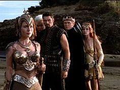 Athena, Deimos, Ares, Hades, and Artemis.........Xena