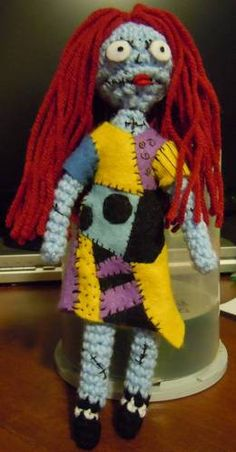 Crochet Sally - Nightmare Before Christmas