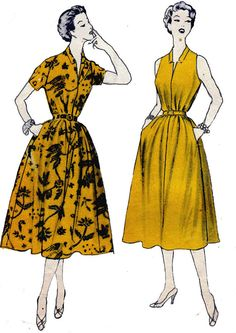 1950s Sewing Pattern McCalls 9661 Full by allthepreciousthings, $20.00