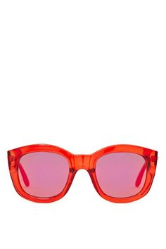 Le Specs Runaways Shades - Red