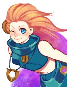 League of Legends - Zoe by DoubleMoonbow