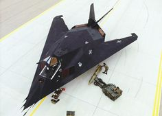 Lockheed F-117 Nighthawk stealth fighter- Just this once.