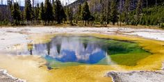Yellowstone Caldera, United States , most dangerous volcano in the world