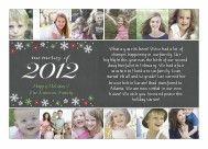 2012 Memories Holiday Card by Amy Sheridan