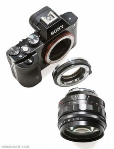 It is common and practical to many to own a Sony alongwith a Sony Mirrorless camera. Here is Sony E-Mount, A-Mount Lens Adapter Buying Guide. Sony E-Mount, A-Mount Lens Adapter Buying Guide Camera Rig, Sony Camera, Camera Gear, Best Camera, Sony A7r2, Camera Case, Sony A7 Lenses, Nikon Lens, Canon Cameras