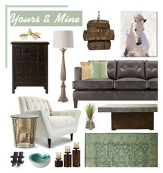 """Yours & Mine Part 2 Contest Example"" by clara-bow80 ❤ liked on Polyvore featuring interior, interiors, interior design, home, home decor, interior decorating, Art Classics LTD, Thrive, Arteriors and Safavieh"