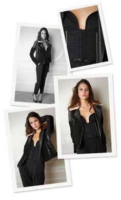 Margot for Comptoir des Cotonniers -   NABIRAT jacket, NISABELLA pants, NANKA shoes