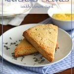 Low Carb | All Day I Dream About Food/lavender scones with lemon curd
