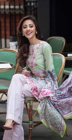 Farah Talib Aziz Lawn Collection 2015