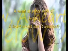 ▶ She Walks in Beauty Lord Byron marcho with lyrics - YouTube