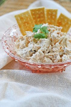 Spicy Chicken Ranch Dip 2 8 oz. packages cream cheese, softened to room temperature 1 large can of chicken 1 package (2 Tbs.) of ranch dressing mix 1/4 cup salsa