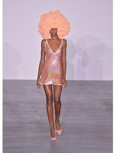 Sequin-embellished plunging silk mini dress | Ashish | MATCHESFASHION.COM AU