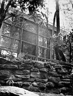 """""""Minimum House"""" designed by BMC students Ralph Chernoff, Bernard Karp, Albert Lanier, Alex Morse, Warren Outten, Sewell Sillman, Ragland Watkins and Paul Williams in 1947-48."""