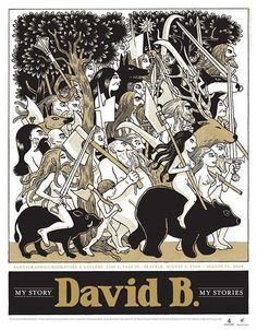 David B - The Garden - comics