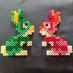 Easter bunnies hama beads by atelierdu6eme