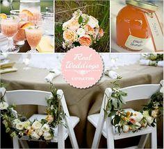 shabby chic wedding ideas | Shabby Chic Interiors: Peach Wedding