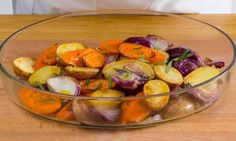 Como fazer legumes estaladiços no forno