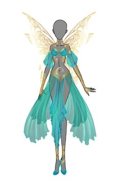 Queen of goldsmith by Moryartix on DeviantArt. LOVE this design so beautiful :)