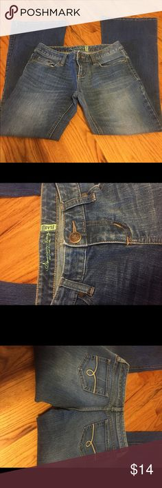 American Rag jeans American Rag flare leg jeans. Still in good shape. American Rag Jeans
