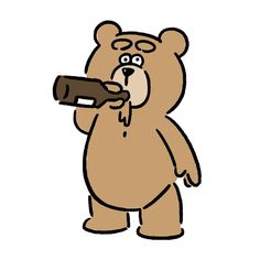 Ted #ted #seijimatsumoto #松本誠次 #art #drawing #illustration #illustrator #movie #イラスト #テッド #映画